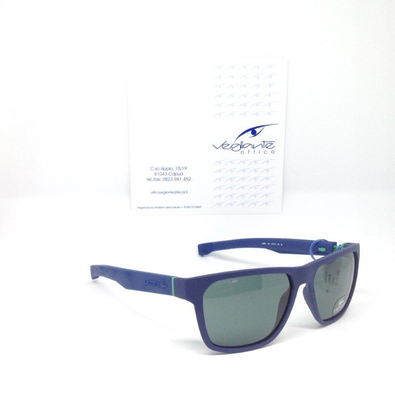 Lacoste 869S 35488 424 matte blue